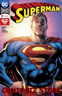 Superman #1 (2018) 1St Printing Main Cover Bagged & Boarded Dc Universe