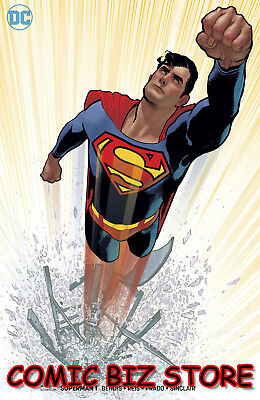 Superman #1 (2018) 1St Print Hughes Variant Cover Bagged & Boarded Dc Universe
