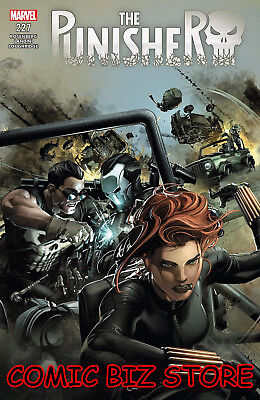Punisher #227 (2018) 1St Printing Bagged & Boarded Marvel Legacy Tie-In