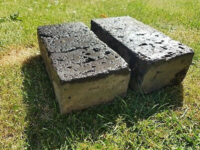 160 Reclaimed Staffordshire Blue Victorian Pavers Blue Bricks £199 for the lot
