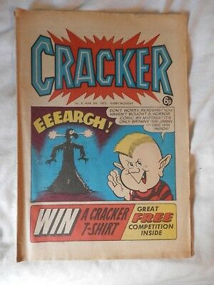 CRACKER No 8 comic (1975)