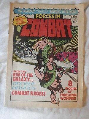 FORCES CIN COMBAT No 4  comic (1980)