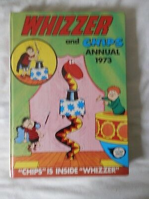 WHIZZER and CHIPS annual (1973)