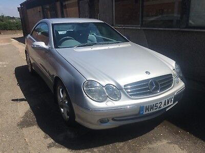 Mercedes Clk 240-Avantgarde Coupe-V6 Petrol-Fsh-Automatic-Only 58K-Immaculate