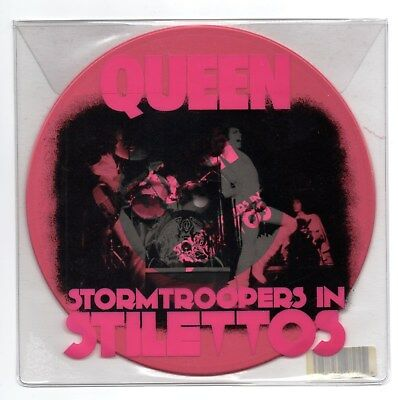 "QUEEN Stormtroopers In Stilettos RSD pink vinyl 7"" single Keep Yourself Alive NM"