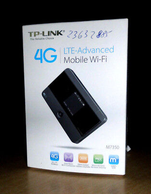 TP-Link M7350 4G LTE-Advanced Mobile Wi-Fi Gebraucht OVP