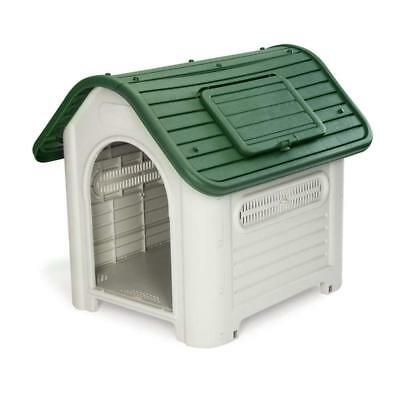 Deluxe Large Plastic Pet Kennels Indoor & Outdoor Use Plastic Easy Assembly