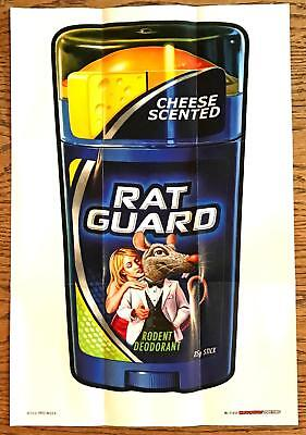 WACKY PACKAGES POSTERS Series 1 (2012)--Poster #17: Rat Guard^