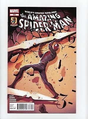 Amazing Spider-Man #679 del Mundo Painted Cover (Marvel 2012) VF/NM