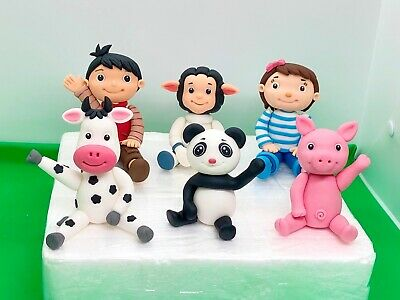 Edible Cake Toppers Five Little Baby Bum LBB Boy Girll Birthday Decorating