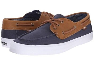 996547233b Like us on Facebook · New VANS Mens 7 Womens 8.5 Chauffeur SF C L Navy  Chambray Blue Surf Sneakers