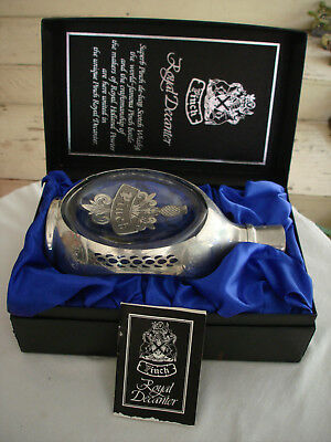 Vintage Haig Pinch Royal Pewter  Decanter  With Box