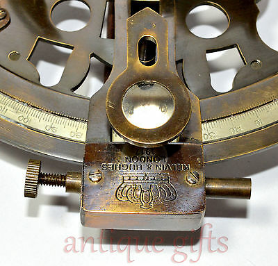 "Nautical Sextant Antique vintage Navigation Working Brass Sextant  Gift 4"" @"