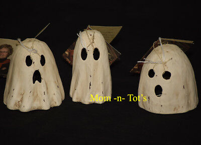 Bethany Lowe Designs Halloween Ghoulish Ghost Luminaries - Set of 3