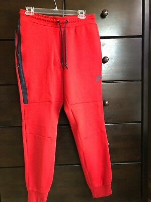 4e05f32c730a NIKE RED JOGGER Tech Fleece Pants Medium -  40.05