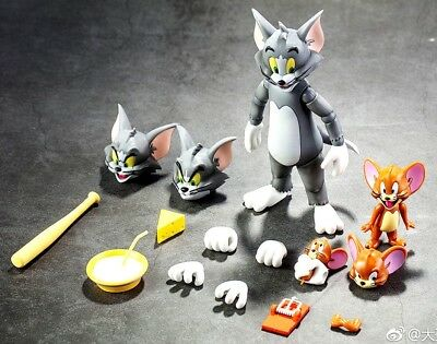 Limited Edition Toys Tom and Jerry Collectible Action Figure Movable Cat&Mouse