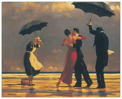 Artopweb EC40100 Pannello Decorativo Vettriano-the Singing Butler Legno Multicol