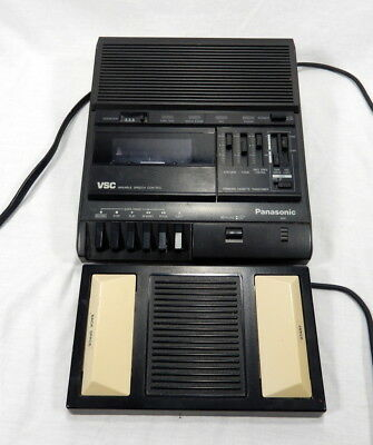 Panasonic RR-830 Standard Cassette Transcriber Recorder with Pedal