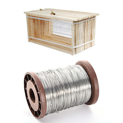 80M Stainless Steel Bee Wire Hive Frame Foundation Wire Bee Keeping Tool