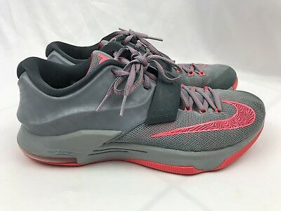 the best attitude c8d39 b963b Nike Zoom Kd 7 Calm Before The Storm Size 9.5 669942-001 Gray Neon Pink