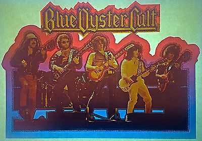 Vintage 70s Blue Oyster Cult Iron-On Transfer Don't Fear The  Reaper RARE!