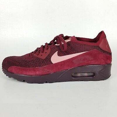 lowest price 19c57 257d2 Men s Nike Air Max 90 Ultra 2.0 Flyknit Shoes Team Red 875943 601  160