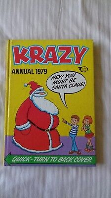 Krazy 1979 Vintage Comic Book Annual