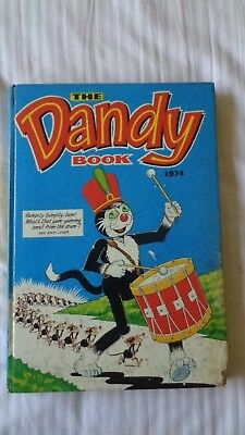 the dandy book 1974 Vintage Comic Book