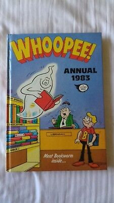 whoopee annual 1983 Vintage Comic Book