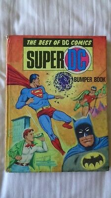 super DC bumber book 1970 Vintage Comic Book