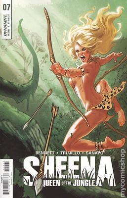 Sheena (Dynamite) #7C 2018 VF Stock Image