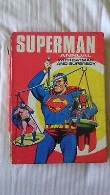 superman annual 1970 Vintage Comic Book