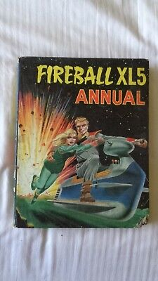 fireball XL5 annual 1965 Vintage Comic Book