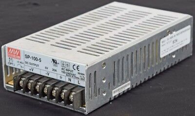 MW Mean Well SP-100-5 1-Output 100W 5V 20A AC/DC Power Supply/Converter Module