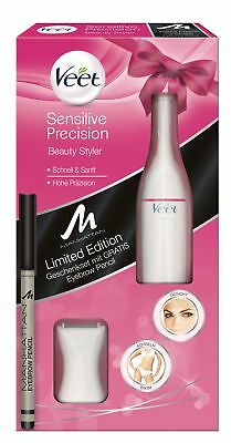 Veet Sensitive Precision Beauty Styler Trimmer + gratis Manhattan Eyebrow Pencil