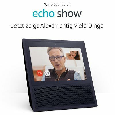 *NEU & OVP* Amazon Echo Show, schwarz, Garantie von Amazon, Alexa, Display