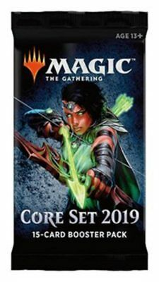 MAGIC THE GATHERING : Core Set 2019 - Booster Pack MTG Card Pack New/Sealed