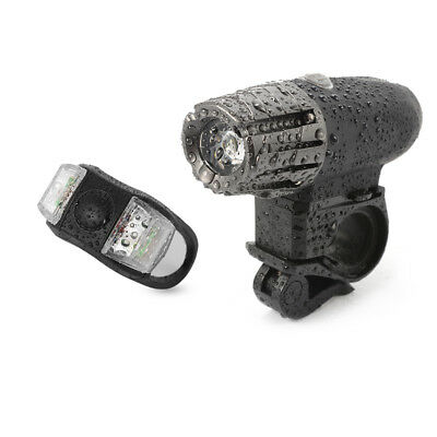 Bike USB Rechargeable Waterproof LED Front and Rear Light Bicycle Lamp Set CS498
