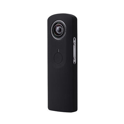 Silicone Cover Case with Lens Cap for Ricoh Theta M15 360 Panoramic Camera LF817