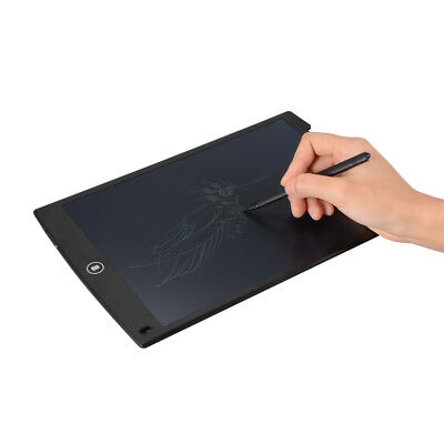 "12"" Digital LCD Writing Tablet Electronic Drawing Board Notepad Pad w/ Pen AH321"