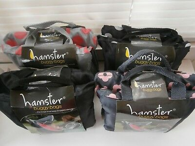 Hamster Buggy Bags X2 One For Each Side, Choose Your Colour
