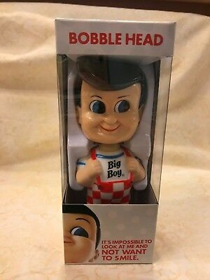 Big Boy Restaurant Bobble Head New In Box