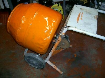 BELLE CEMENT MIXER FRAME GEARBOX AND DRUM only no motor