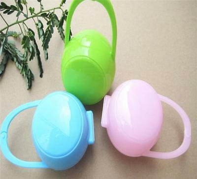 Baby Dummy Soother Container Holder Pacifier Portable Travel Case Storage Box 8C