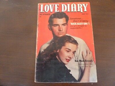 LOVE DIARY # 17 52 Page Precode Romance Comic- Underwear/ Lingerie/ JD Story!