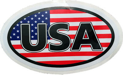 USA Alphabet United States of America Flag Car Motorcycle Laptop Decal Sticker A