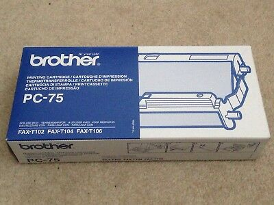 Ink Cartridge for Brother PC-75 Plain Paper T102 T104 T106 - Brand new FREE P+P
