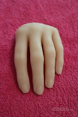 Nail Training Hand, Realistic Nail Training Hand, Silicone Hand, Half hand
