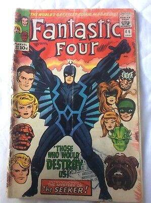 Fantastic Four #46 1st Full App Black Bolt + Inhumans
