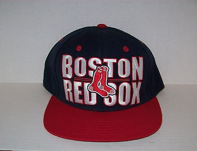 Boston Red Sox Logo Ball Cap Adjustable Sizing Band Fits All